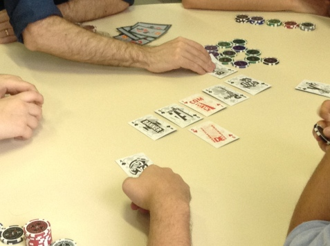 Na ESPM, o Poker foi sobre os 4P's do marketing